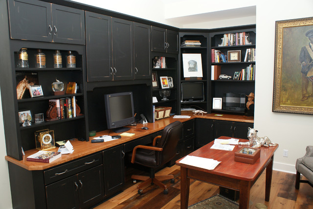 Low Country Charm traditional home office