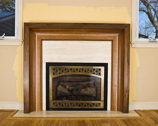 "Fireplace Mantels ""Raama"" Design series -"