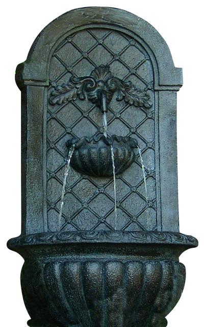 Outdoor Wall Fountain Designs : Venetian Outdoor Wall Fountain, Lead - Traditional - Outdoor Fountains ...