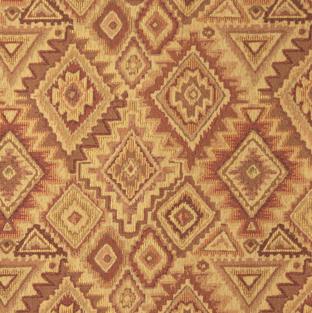 E100 Southwestern Theme Fabric traditional-upholstery-fabric