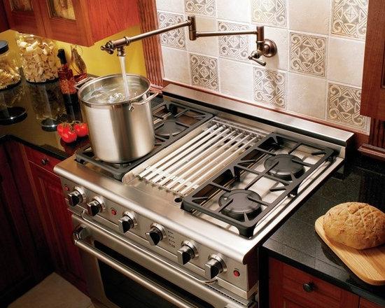 Pot Filler Faucet - Moen S664ORB Pot Filler Two Handle Wall Mount Kitchen Faucet