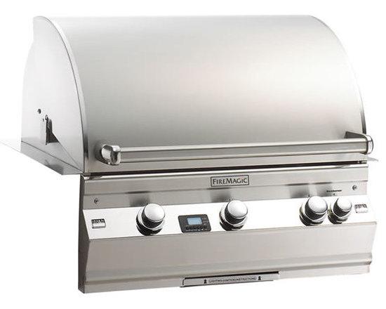 Fire Magic A540i Built-In Gas Grill - Fire Magic Aurora Built-In Gas Grill Model A540i With Rotisserie