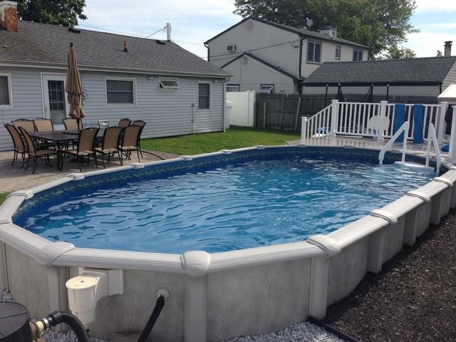 12x24 semi inground pool for 12x24 pool design