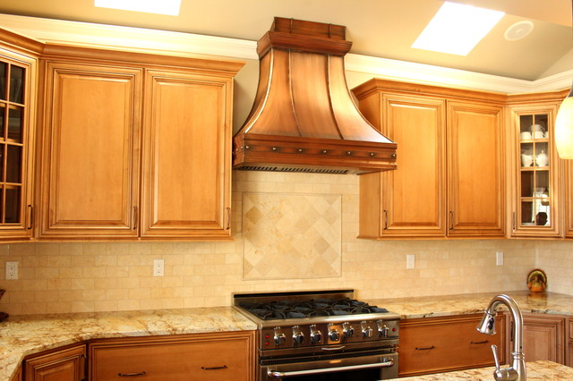 Rustic Range Hoods ~ Berenice copper range hood rustic hoods and