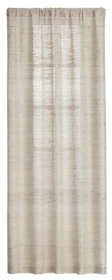 Asanto Sand 48x84 Curtain Panel modern-curtains