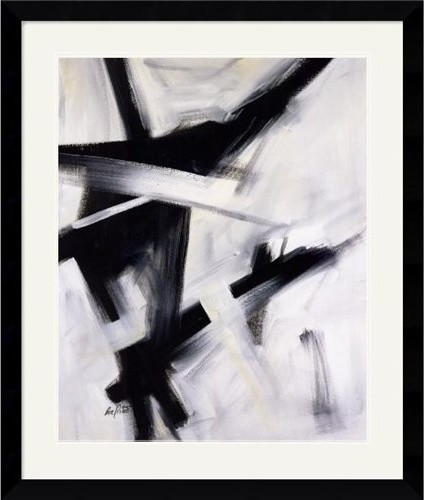 Black and White Print, Eva Carter modern artwork