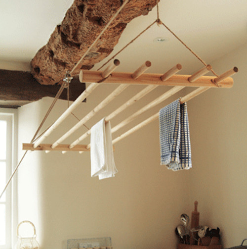 Ceiling Clothes Dryer traditional-dryer-racks