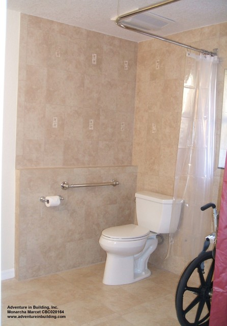 Bathroom jack n jill accessible traditional - Jack n jill bath ...