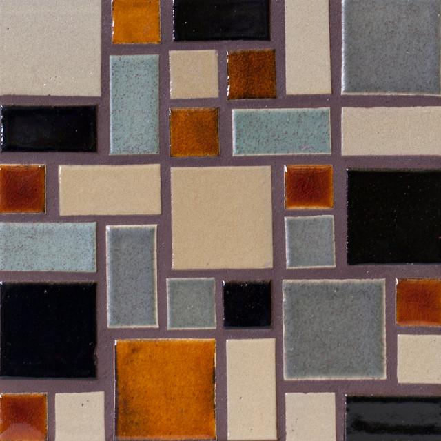 Savvy Squares modern-tile
