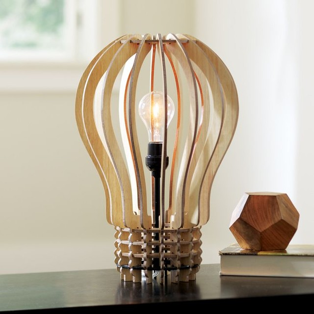 Think Big Table Lamp eclectic-table-lamps