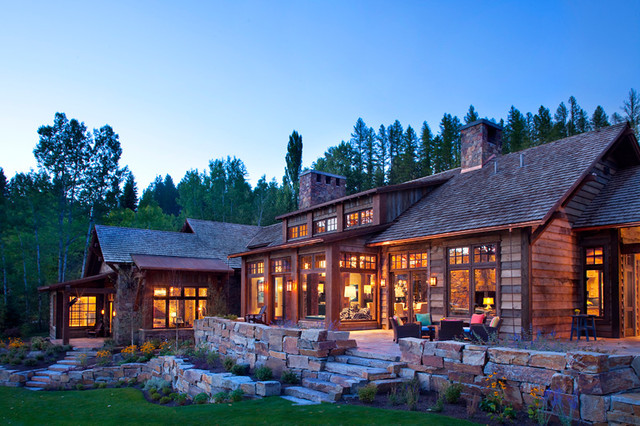 Whitefish Yacht Club Residence traditional exterior