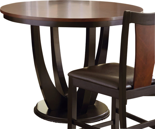 Steve Silver Oakton 48 Inch Round Counter Height Table Transitional Dinin