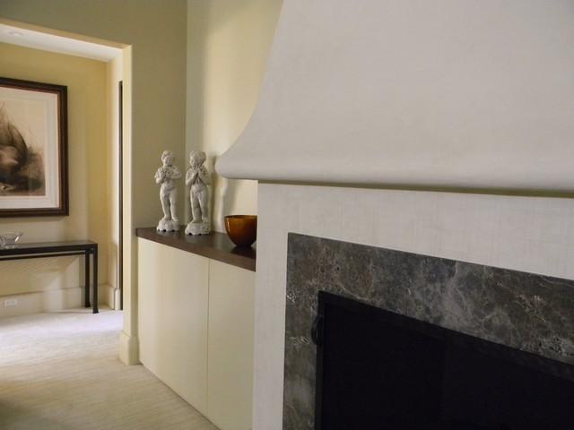 Fireplace American Clay modern