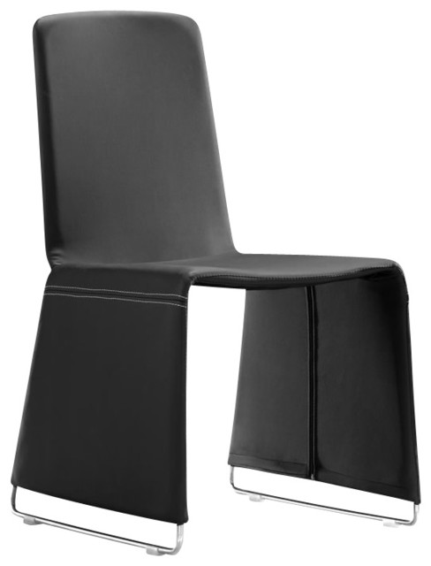 Zuo Nova Dining Chair in Black modern-dining-chairs
