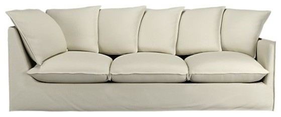 "Slipcover Only for Oasis 98"" Right Arm Corner Sectional Sofa modern-sectional-sofas"