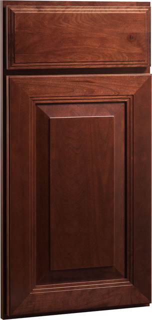 Carlton Door | Cherry Russet Finish | CliqStudios.com Kitchen Cabinets traditional kitchen cabinets