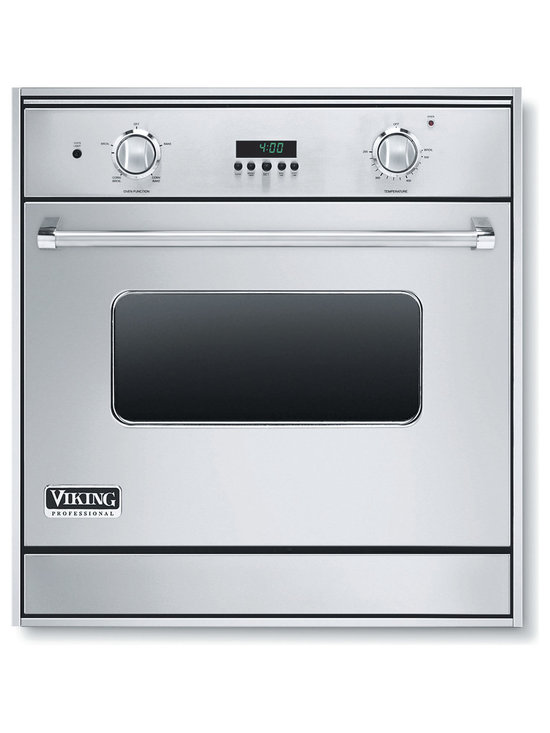"""Viking 30"""" Single Gas Wall Oven, Stainless Steel Natural Gas 