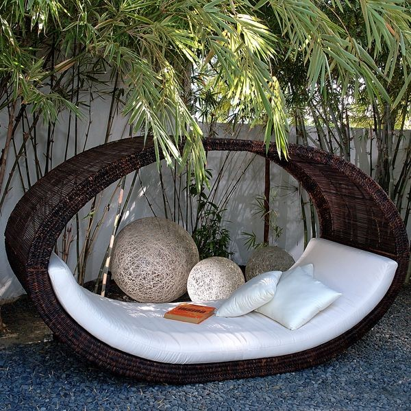 sampon outdoor wicker pod outdoor sofas chicago by