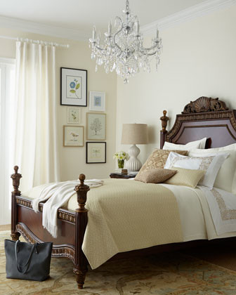 Bianchi King Bed traditional-beds