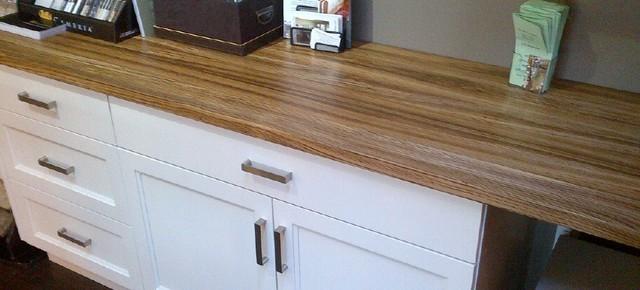 hardwood counters modern-kitchen-countertops
