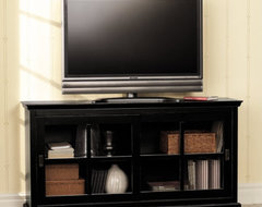 Hanover Modular Console transitional-media-storage