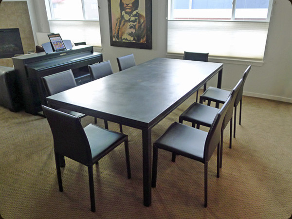 Concrete Furniture Modern Dining Tables Denver By Concretepete Llc