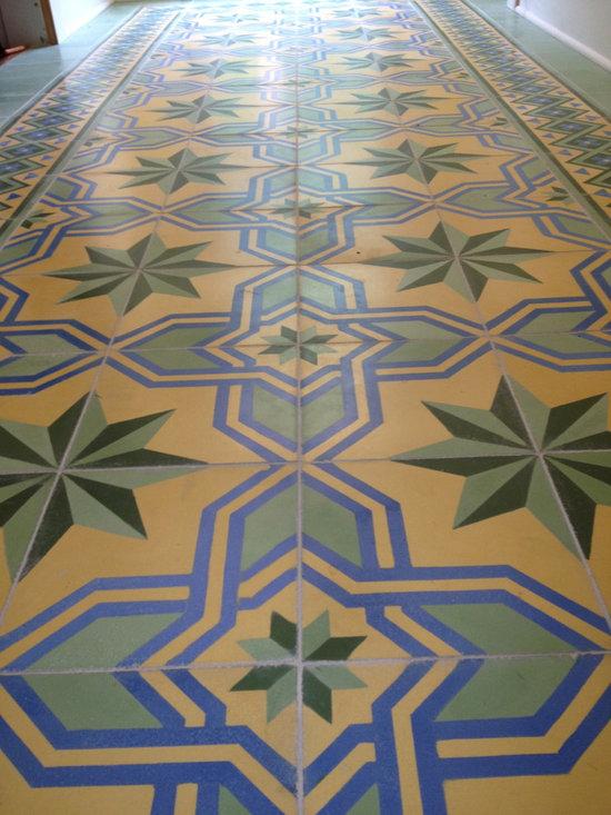 Gran Cordoba Luscen Custom Handmade Cement Tile Project