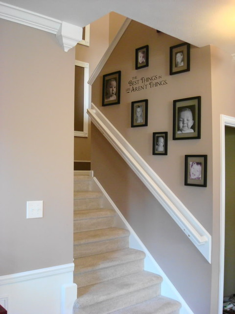 Wall Decor For Stairs : Thriftydecorchick