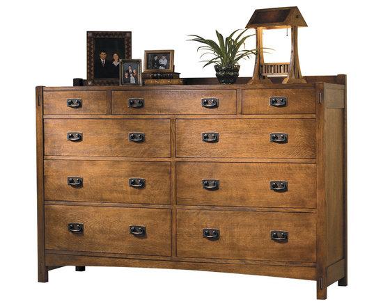 Stickley Master Dresser 89/91-637 -