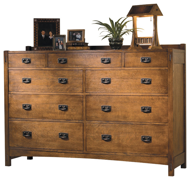 Wooden craftsman dresser plans pdf plans for Craftsman furniture plans