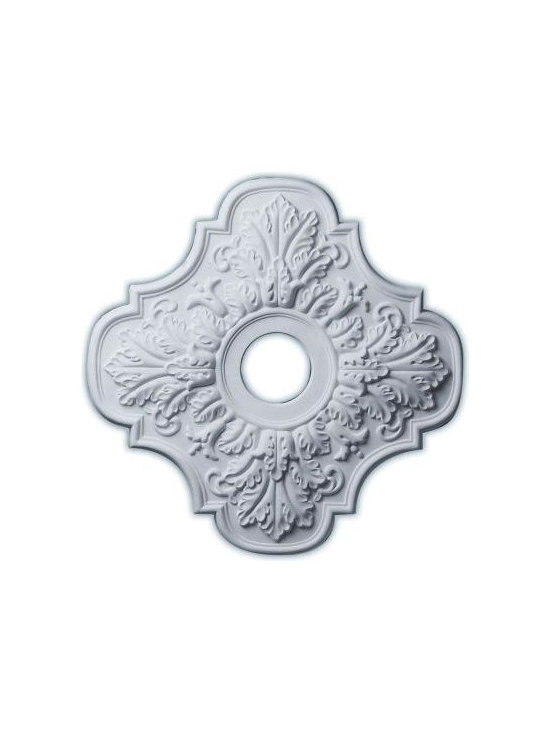Ekena 17-3/4 in. Peralta Ceiling Medallion-CM17PE at The Home Depot -