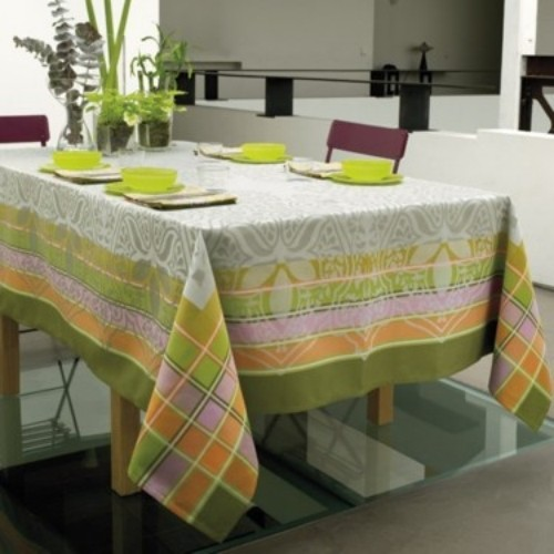 "Le Jacquard Français ""Rajasthan"" Table Linen - traditional"