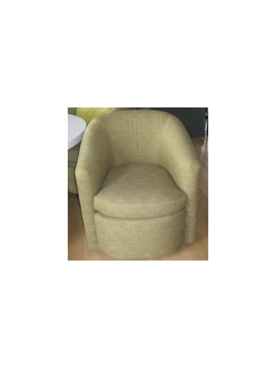Barrel Chair - a & b upholstery