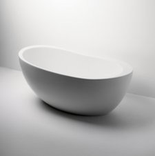 "Freestanding Oval Bathtub 70"" x 40"" x 29"" — Products contemporary-bathtubs"