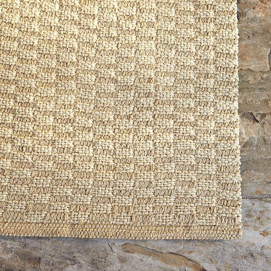 West Elm Outdoor Rug: Hand Woven Outdoor Rug
