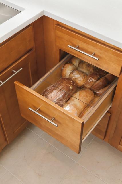 aristokraft bread box cabinet
