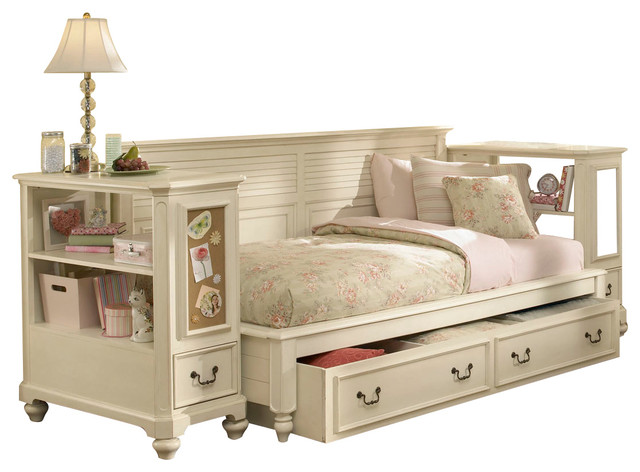 Lea Retreat White 4 Piece Sideways Kids 39 Bedroom Set In Antique White T