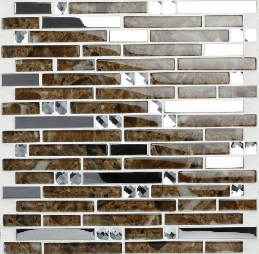 steel mosaic tiles ssmt024 glass mosaic tile backsplash mosaic tiles