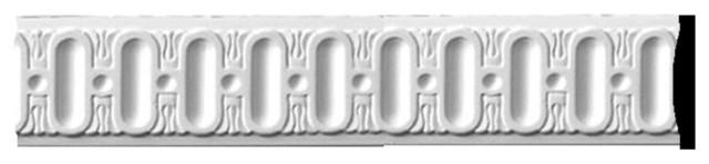 """2 1/2""""H x  3/8""""P x 94 1/2""""L Bulwark Panel Moulding modern-moulding"""