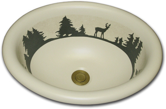 Hand Painted Sinks : ... Hand Painted Sinks - Bathroom Sinks - other metro - by Marzi Sinks