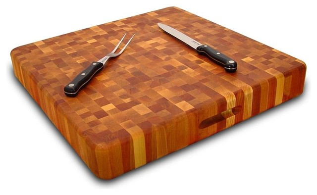Reversible Super Slab w Finger Groove Handles contemporary-cutting-boards
