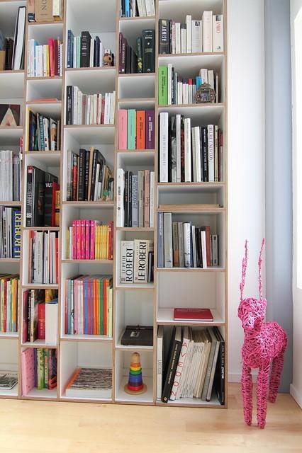 Boko Bookshelf - Modern - Bookcases - ottawa - by Handwerk Interiors