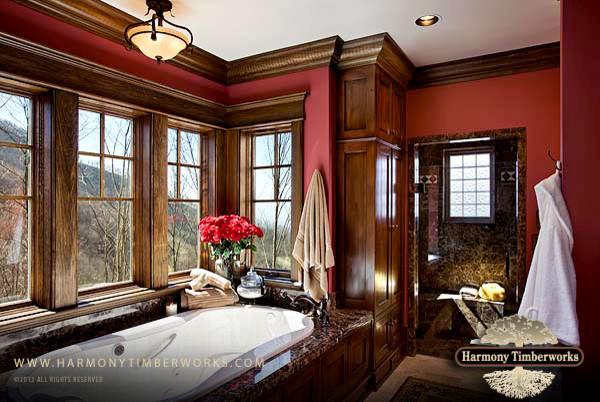 Blue Ridge Mountian Home rustic
