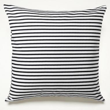 Sailor Charcoal Stripe Pillow modern-decorative-pillows