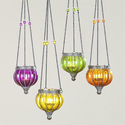 Small Melon Lanterns eclectic-outdoor-lighting
