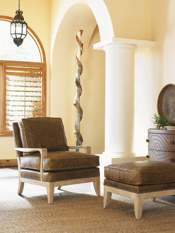 "Tommy Bahama Home, ""Road to Canberra"" tropical-armchairs-and-accent-chairs"