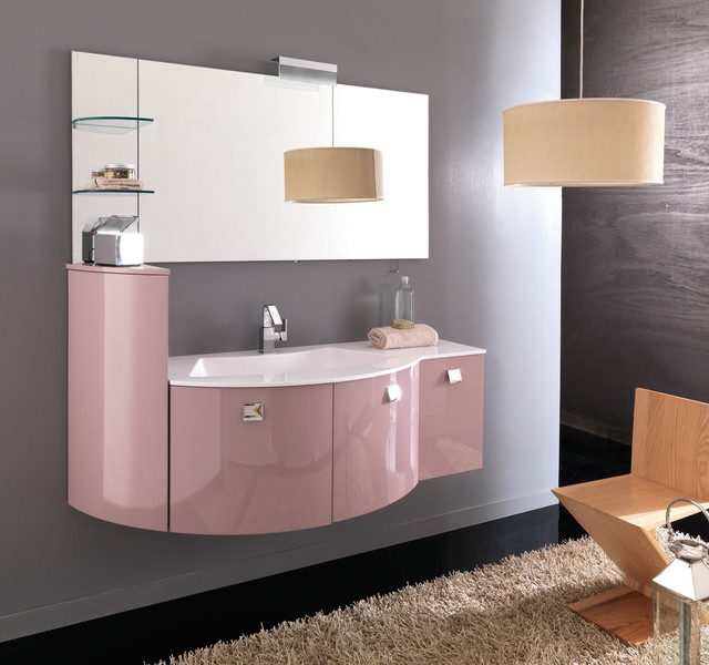 Italian Bathroom Vanity MODO Modern Bathroom Vanities And Sink