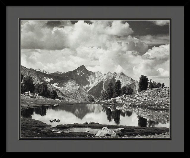 Mount Clarence King, 1925 Framed Print by Ansel Adams traditional-prints-and-posters