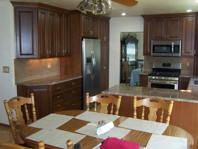"""""""BEFORE & AFTERS"""" traditional-kitchen"""