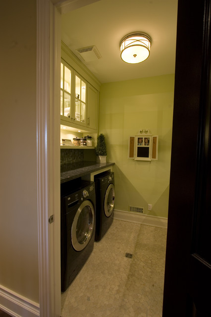 Decor by Jennifer Inc contemporary-laundry-room
